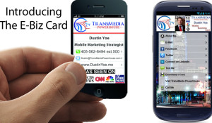 Mobilebeme rise of the e business card colourmoves